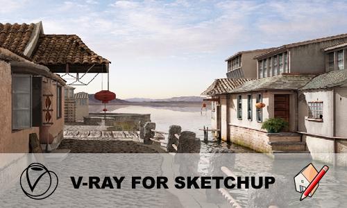 Nieuwe versie van V-Ray for SketchUp beschikbaar